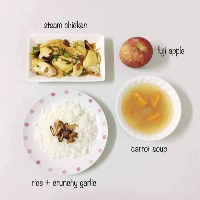 Resepi KURUS:Ayam Masak Steam