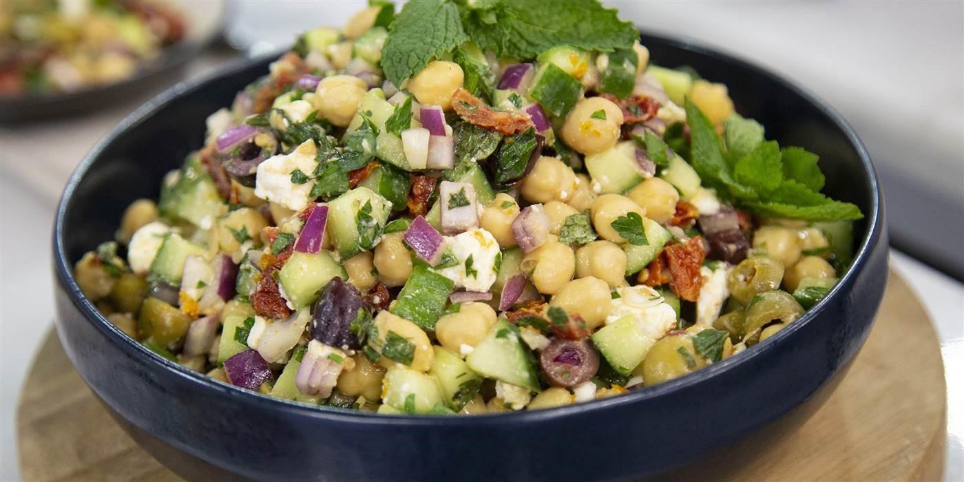 Resipi KURUS: Salad Chickpeas