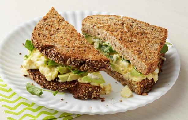 Resipi KURUS: Sandwich salmon sihat