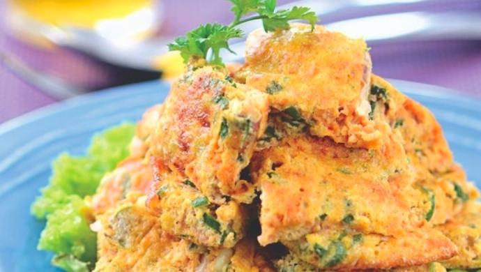 Resipi KURUS:Omelet Tuna