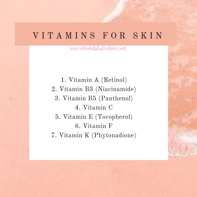 Vitamin For Skin.