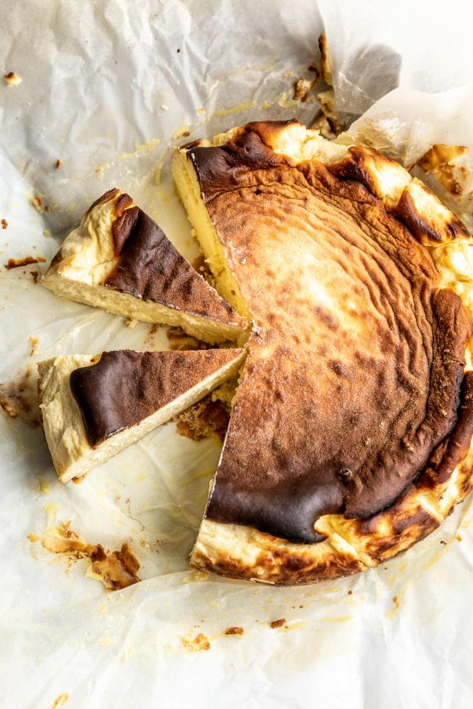 Resepi KURUS: KETO Basque Burnt Cheesecake