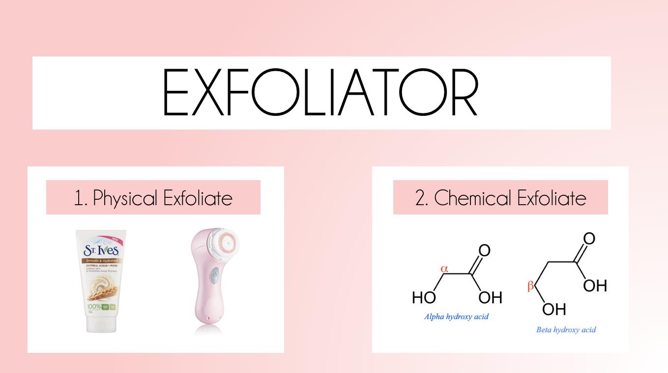 Apa fungsi exfoliator ni?