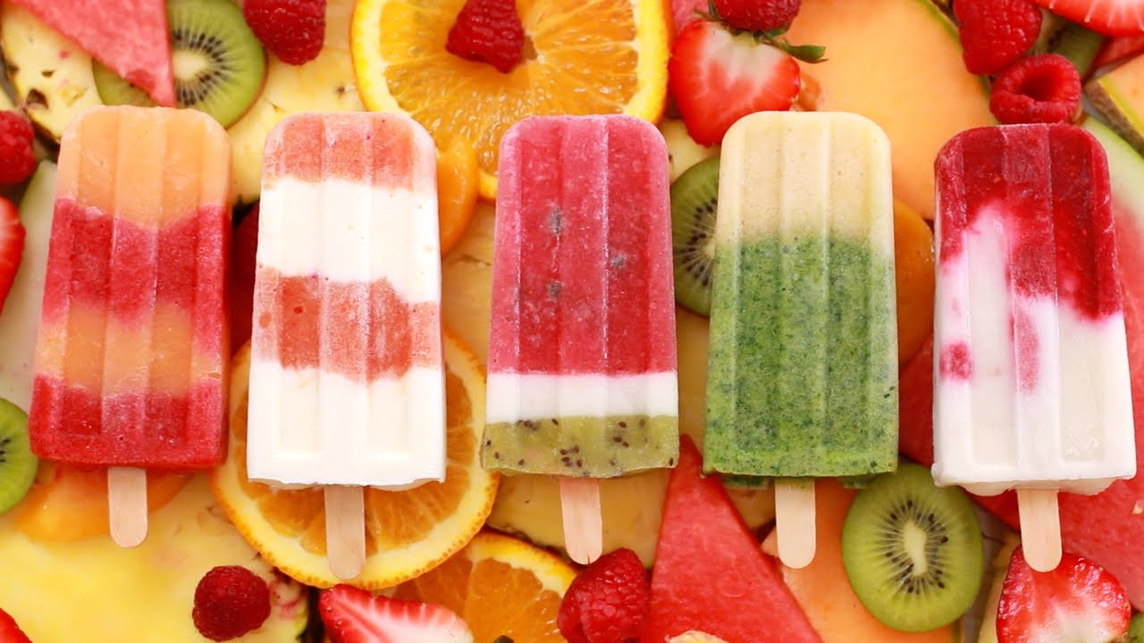 Resepi KURUS:Healthy Homemade Fruit Popsicles