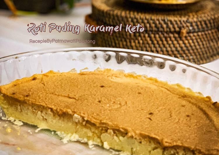 Resepi KURUS: Roti Puding Karamel Keto